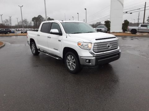 Pre-Owned 2017 Toyota Tundra Limited RWD 4D CrewMax